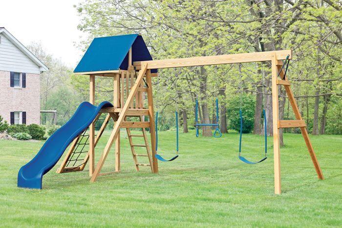 Cách bảo quản xích đu gỗ ngoài trời cho bé bền đẹp lâu dài