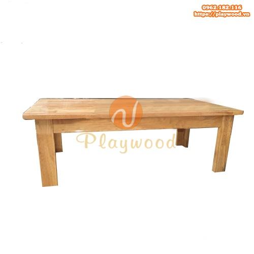 Bàn gỗ mầm non chân cao 30cm PW-3302