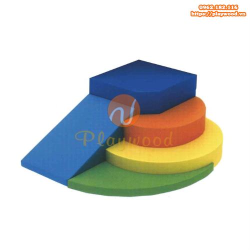 Bộ đồ chơi vận động mềm cho bé mầm non PW-4113