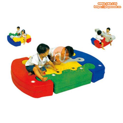 Bộ đồ chơi vận động mềm đa năng cho bé PW-4110