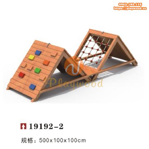 Bộ vận động thể chất gỗ cho bé mầm non PW-2106-1