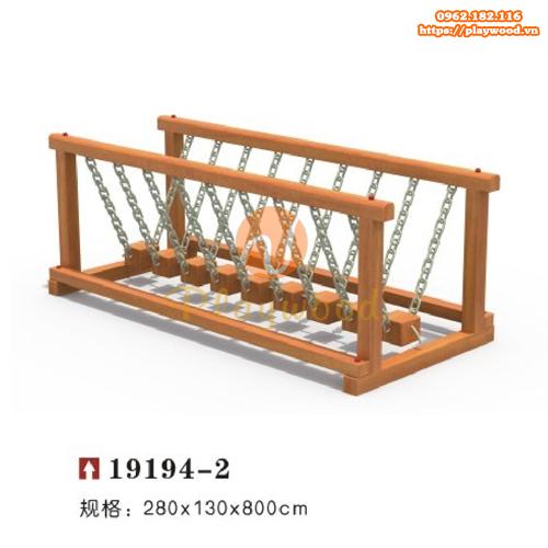 Cầu giao động thăng bằng vận động cho bé PW-2107-1