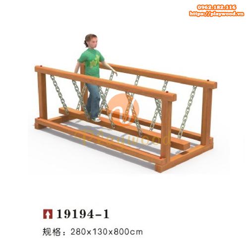 Cầu giao động thăng bằng vận động cho bé PW-2107