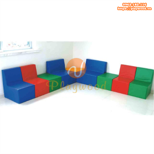 Mẫu ghế bọc da cho bé mầm non PW-4101