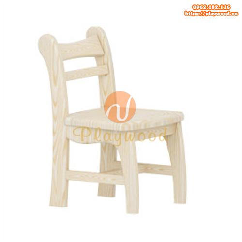 Mẫu ghế cho bé mầm non bằng gỗ PW-3316