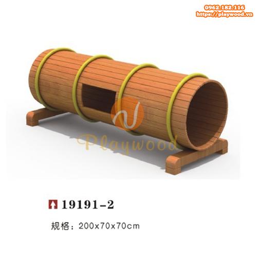 Mẫu ống chui gỗ cho bộ vận động thể chất PW-2103