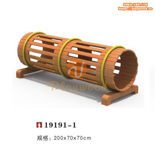 Ống chui gỗ cho bộ vận động thể chất PW-2102