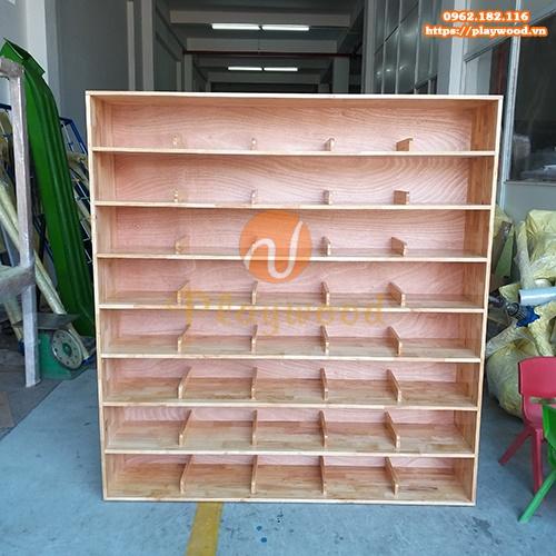 Tủ kệ giày dép cho trường mầm non PW-3153