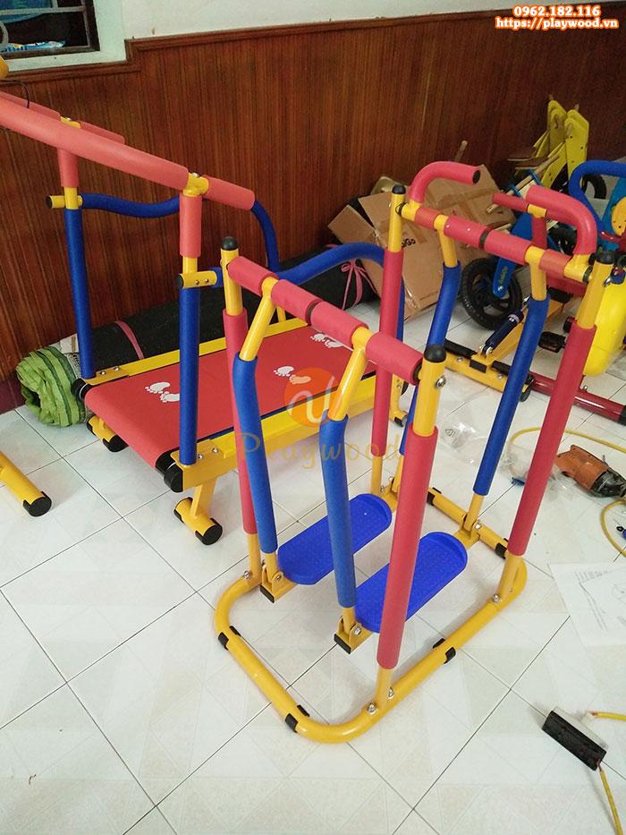 Bộ tập gym trẻ em luyện cơ chân theo bước đi PW-4306