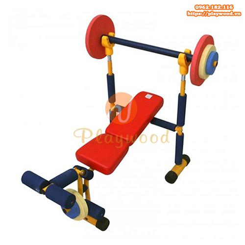 Dụng cụ tập gym cử tạ cho bé mầm non PW-4302