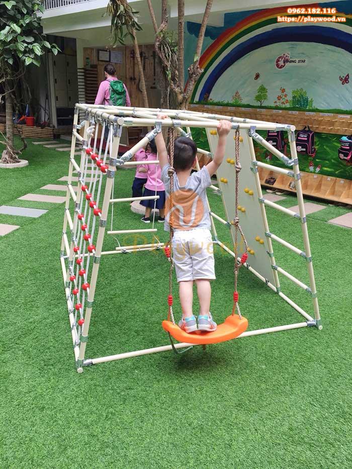 Thang leo thể chất cho trẻ em kèm leo nui PW-2701