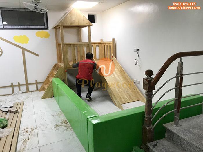 Mua cầu trượt liên hoàn gỗ ở đâu chất lượng, giá rẻ nhất-2